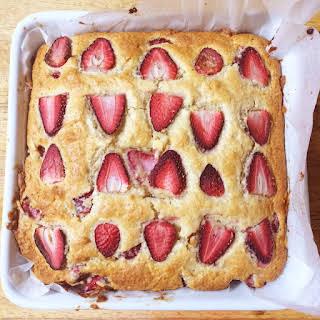 Strawberry Yoghurt Cake.