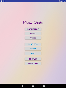 Music Oasis for Relaxation- screenshot thumbnail