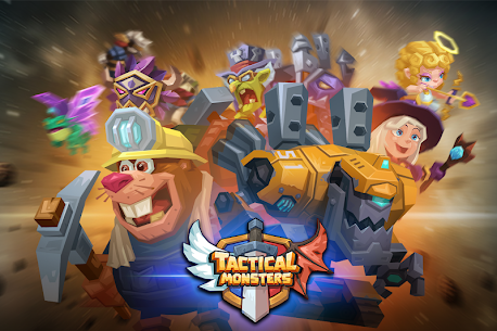 Tactical Monsters Rumble Arena MOD APK [High Attack + Defense] 1.18.6 7