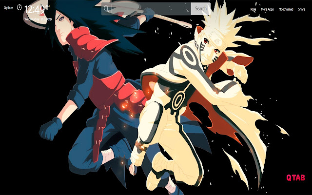 Naruto Shippuden Wallpapers Greatab Chrome Web Store