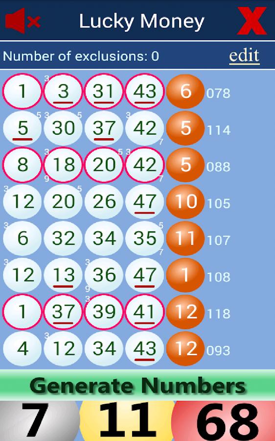 Lotto nummer kostnad