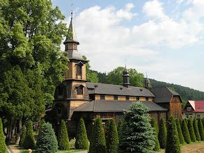 Photo: D6150370 Zawoja - wielki drewniany kosciol
