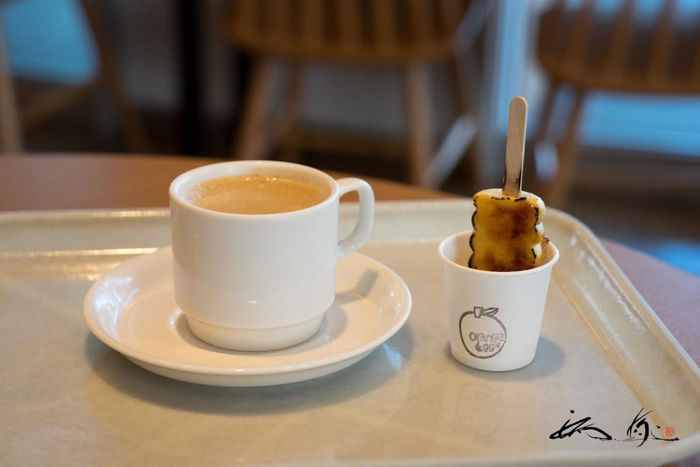 デザートは、コーヒーとポテラーナ