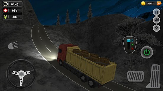 Offroad Cargo Truck Simulator 3D - náhled