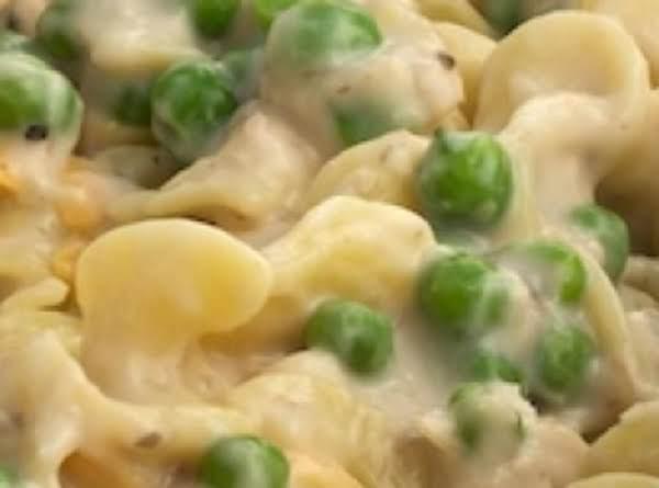Helped Out Creamy Noodle Chicken Helper Recipe