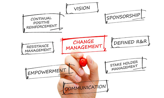 Change management thought chart