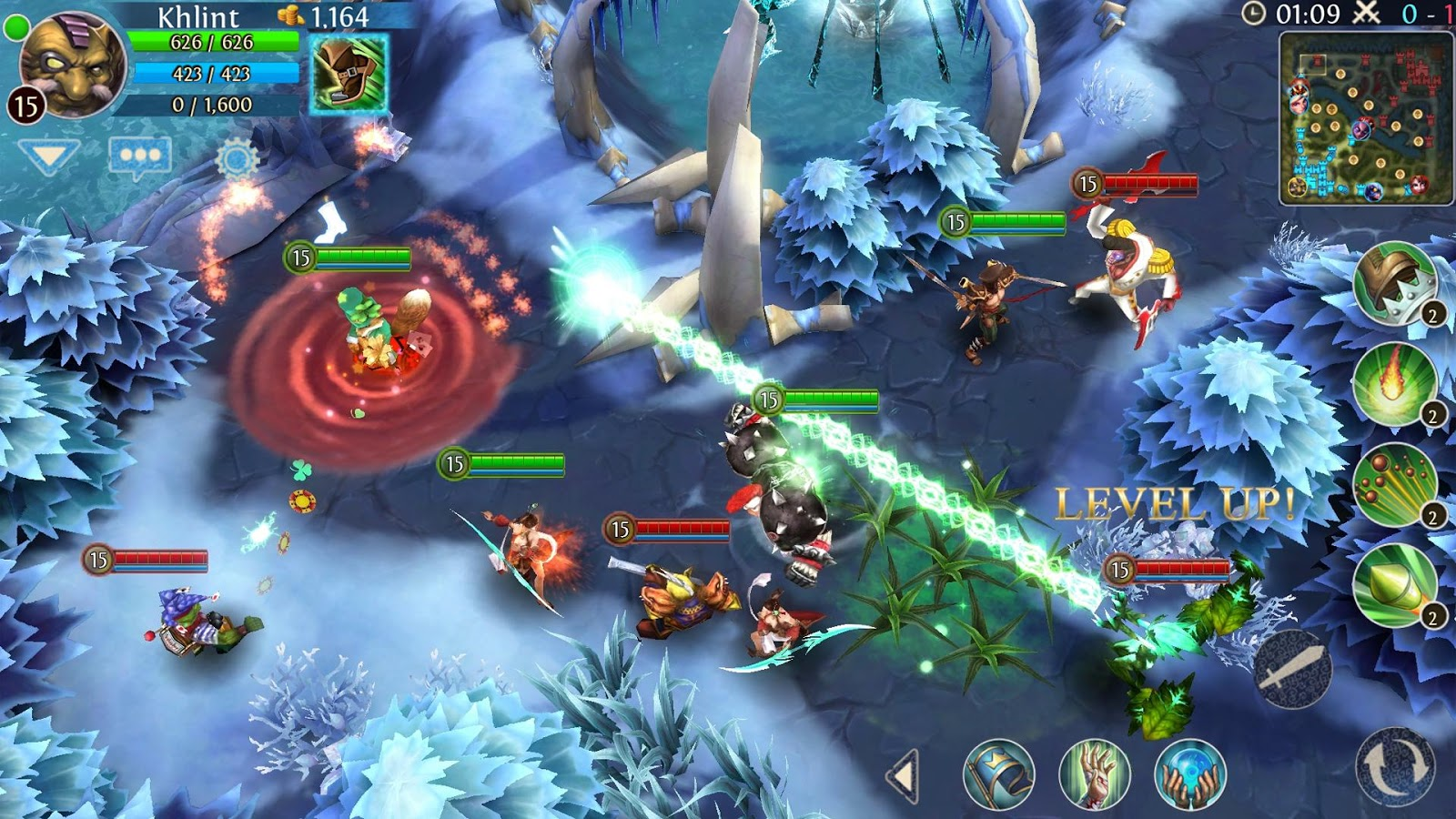 Heroes of Order & Chaos » 4pda