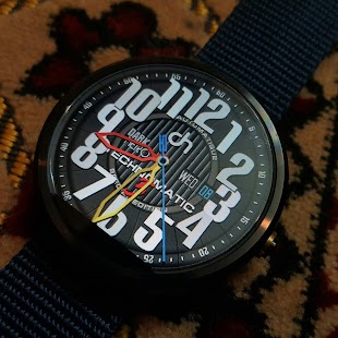 Technomatic 3 Watch Face - náhled