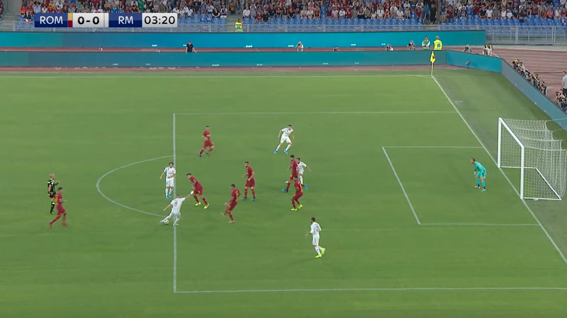 Real match example of the offside rule in-game. 5 (Why Offsides in Soccer?)