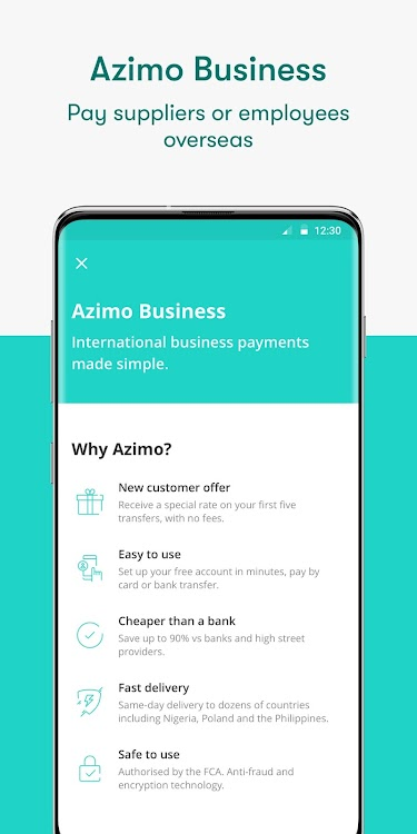 Azimo Money Transfer Android