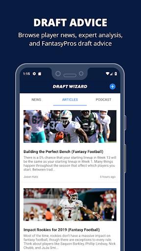 Fantasy Football Draft Wizard screenshot 7