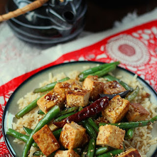 Chinese Garlic Tofu.