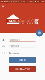 Family Savings CU Mobile- screenshot thumbnail