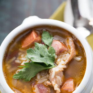 Red Beans and Rice Soup.