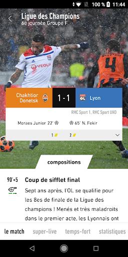 L'Équipe - Sport en direct : foot, tennis, rugby.. screenshot