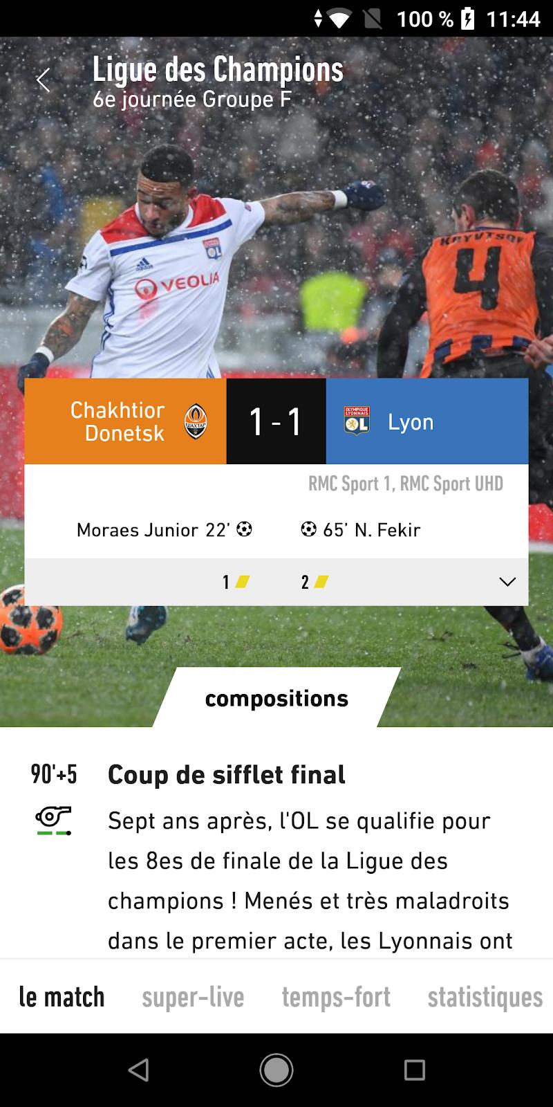 L'Équipe - Sport en direct : foot, tennis, rugby.. Screenshot 2