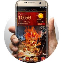 Skeleton Hola Launcher Theme