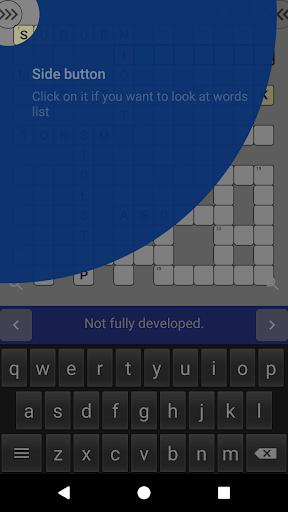 English Crossword puzzle 1.2.5 screenshots 4