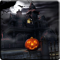 Scary House Halloween icon