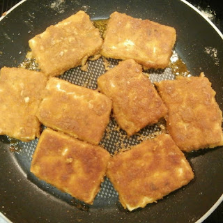 Golden Crispy Tofu - gluten-free, vegan, and yummy!