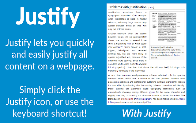 Justify makes text easier to read in just one click! If you're used to reading justified text in academic journals, it can often be…