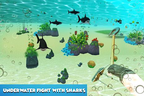 Shark Raft Survival Sim - náhled