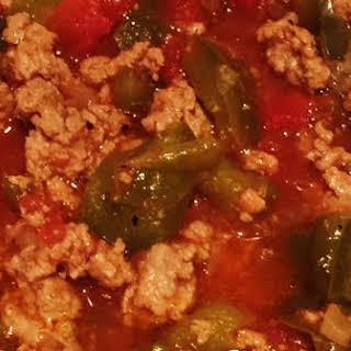 Stuffed Pepper Soup (Instapot) ZERO Points!.