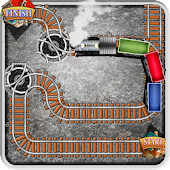 Trains Track Line Builder Maze