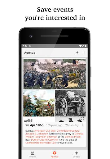 Historical Calendar screenshot 2