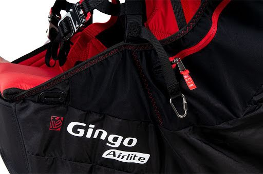 Gingo Airlite 4 lightweight recreational harness