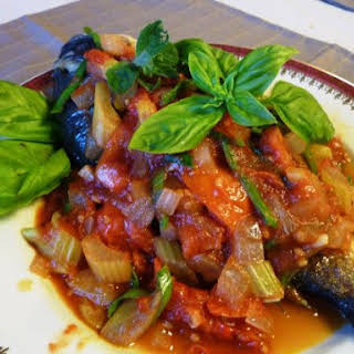 Cambodian Style Fish With Spicy Tomato Sauce.