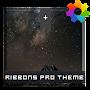 Премиум Ribbons Theme For Xperia временно бесплатно
