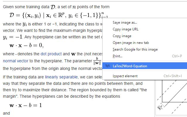 LaTeX2Word-Equation