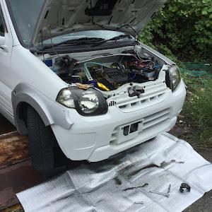 Kei HN11S Gタイプ 4WDのカスタム事例画像 うるおいのジェルさんの2018年09月12日12:18の投稿