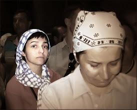 Photo: Иерусалим. Храм Гроба Господня. Паломница из нашего автобуса.