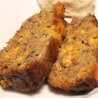 Corn Flake Sausage Loaf.