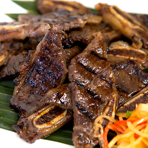 Grilled Beef Ribs Rice Combo