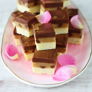 How to Make Cookie Dough Chocolate Burfi in the Microwave Recipe