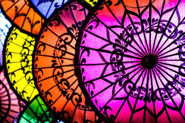 Colored Umbrellas di claudio1984