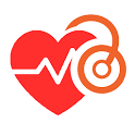 Cardio journal - Blood pressure diary icon