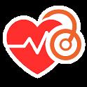 Cardio journal of pressure icon