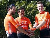 Gijs Van Hoecke fait partie de la sélection de CCC au Tour d'Allemagne