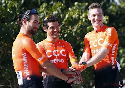 CCC emmène trois Belges sur le Tour de Wallonie