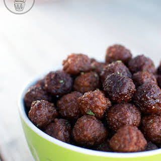 Sweet and Sour Party Meatballs.