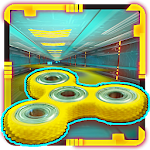Fidget Spinner Racing - Endless Stunt Fun Icon