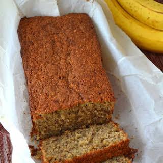 Easiest Wheat Free Banana Bread.
