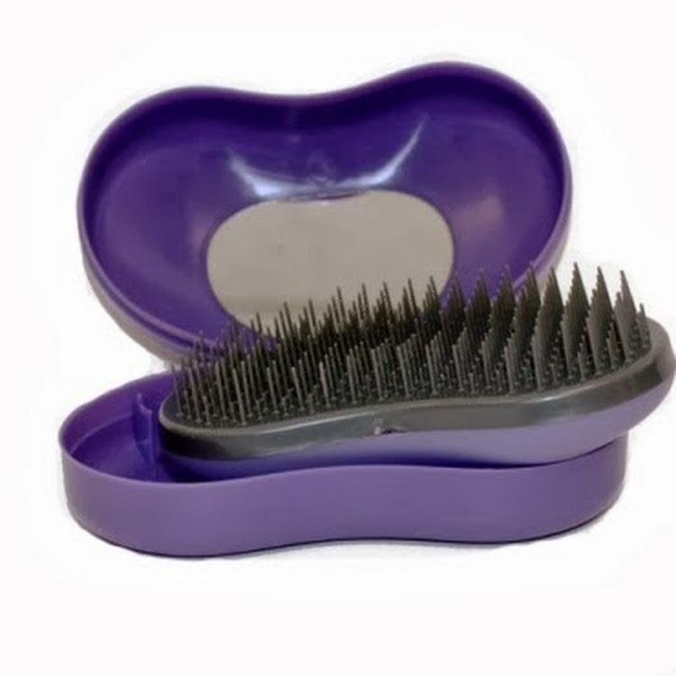 Hair Bean - Tangle Teezer Alternative - Professional Detangling Hairbrush by Supermodels Secrets