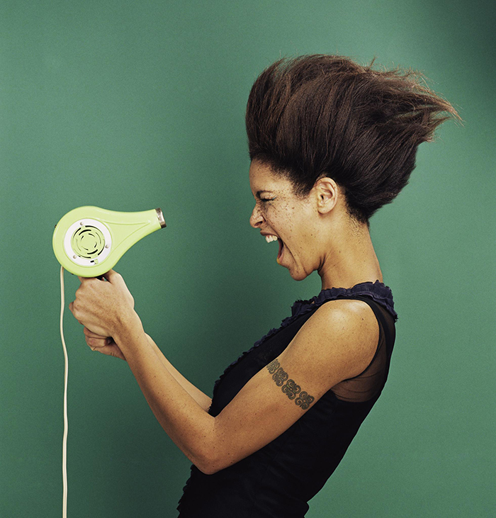 Mastering the art of Blow-drying hair