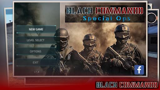 Black Commando Special Ops - FPS Offline Shooting screenshots 1