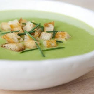 Creamy Spring Asparagus Soup.